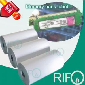 PI label Polyimide Label Film สำหรับ PCB ID, Steel ID ID Label Label